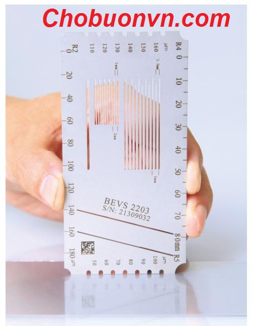 Thước đo độ dày sơn ướt BEVS