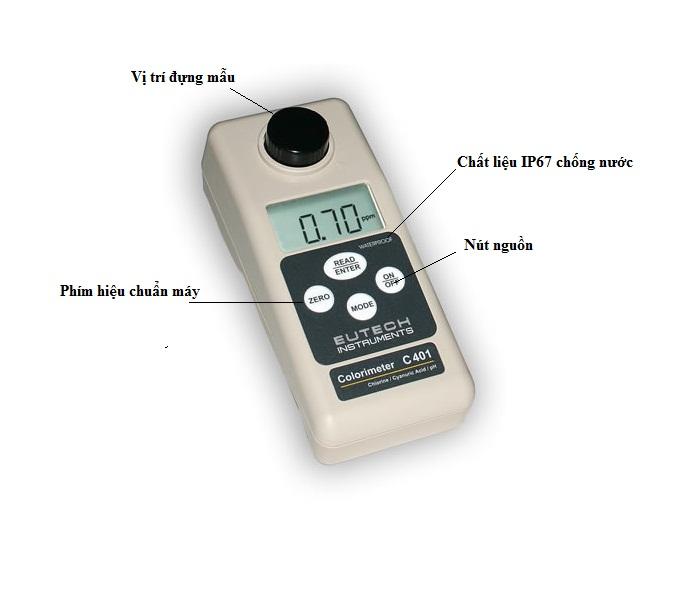 Máy đo Ozone Eutech