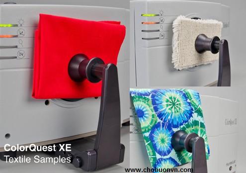 Máy so màu ColorQuest XE HunterLab đo mẫu vải