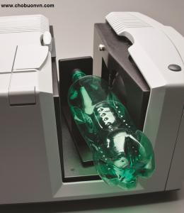 Máy so màu ColorQuest XE HunterLab đo mẫu chai nhựa