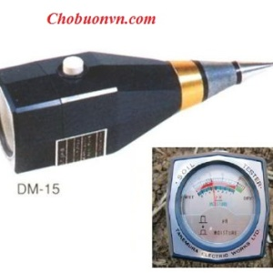 Máy đo pH và độ ẩm đất DM15 Takemura