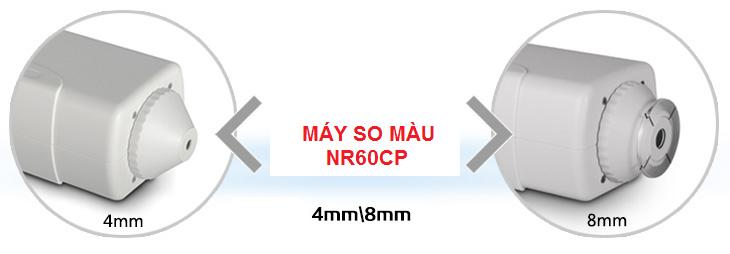 độ mở rộng thấy kính máy so màu NR60CP