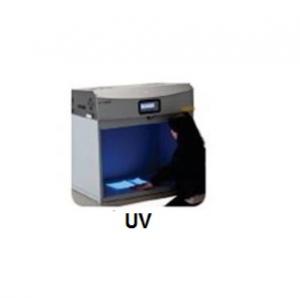 Ánh sáng đèn UV trong tủ so màu