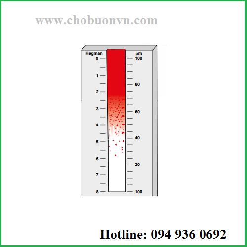 Hướng dẫn sử dụng thước đo độ mịn