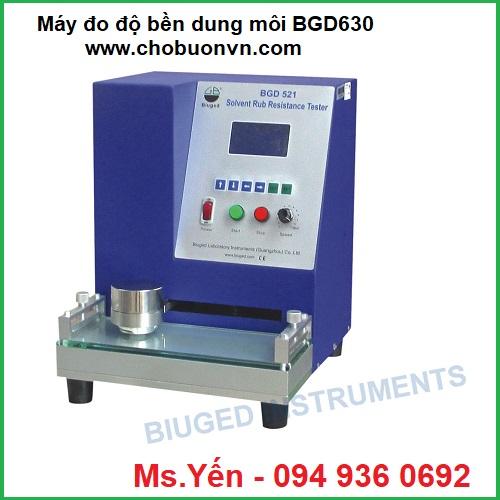 Máy đo độ bền màu dung môi BGD630 hãng Biuged