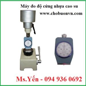 Máy đo độ cứng nhựa cao su QC-GS hãng Cometech