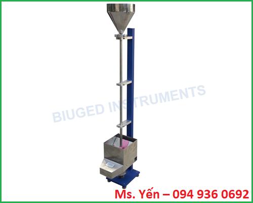 Máy đo độ mài mòn sơn phương pháp cát rơi BGD 529 hãng Biuged