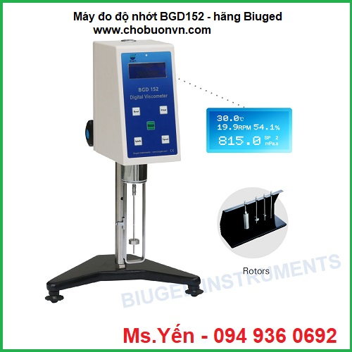 Máy đo độ nhớt BGD152 Biuged