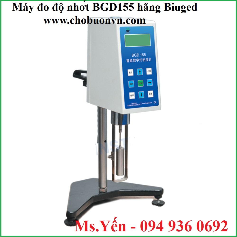 Máy đo độ nhớt BGD155 hãng Biuged