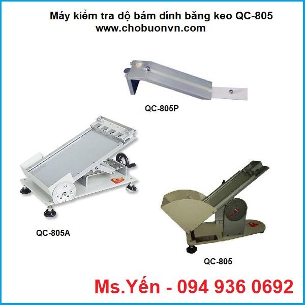 Máy kiểm tra độ bám dính băng keo QC-805