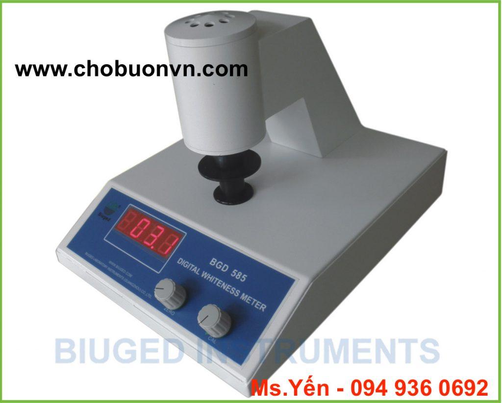 Máy đo độ trắng Trung Quốc giá rẻ BGD 585 hãng Biuged