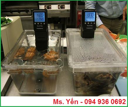 Máy Sous Vide MX hãng PolyScience trong phương pháp nấu Sous Vide