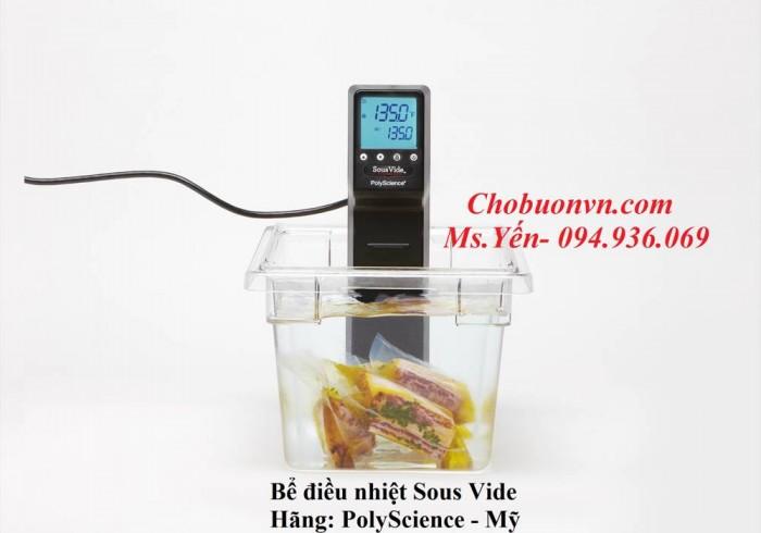 Nấu ăn bằng Sous Vide hãng PolyScience
