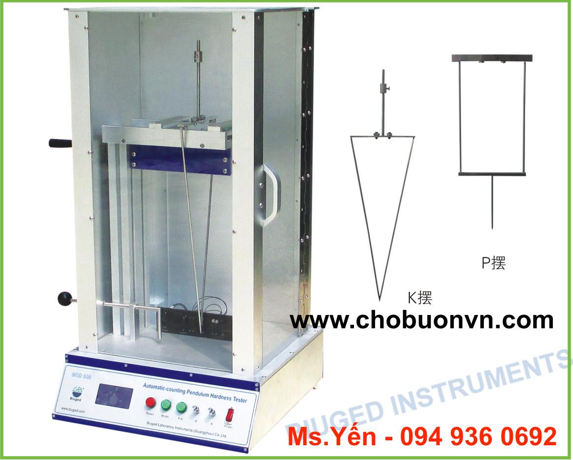 Thiết bị đo độ cứng sơn bằng con lắc Pendulum Hardness Tester hãng Biuged