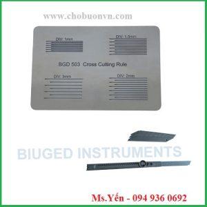 Thước cắt Dụng cụ đo độ bám dính sơn hãng Biuged