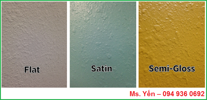 Tìm hiểu về độ bóng của sơn trong ngành sơn phủ