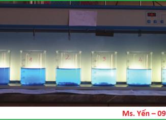 Tìm hiểu về phép thử jartest keo tụ tạo bông trong xử lý nước thải