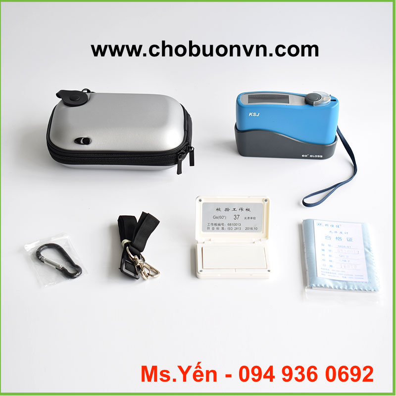 Trọn bộ máy đo độ bóng glossmeter Trung Quốc giá rẻ