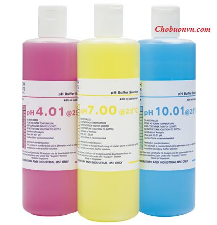 Dung dịch chuẩn pH 4, 7, 10 Eutech