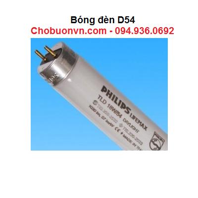 Bóng đèn D54 so màu