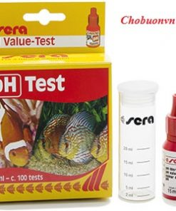 Test pH nước Sera
