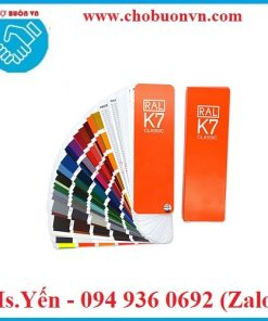 Thẻ màu tiêu chuẩn K7 hãng RAL