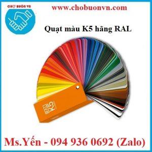 Bảng so màu K5 hãng RAL loại mịn