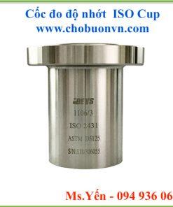 Cốc đo độ nhớt ISO Cup hãng BEVS