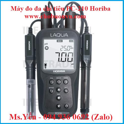 Máy đo đa chỉ tiêu PC-210 hãng Horiba