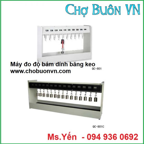 Máy đo độ bám dính băng keo QC-801 hãng Cometech