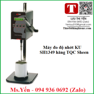 Máy đo độ nhớt KU SH1349 hãng TQC Sheen