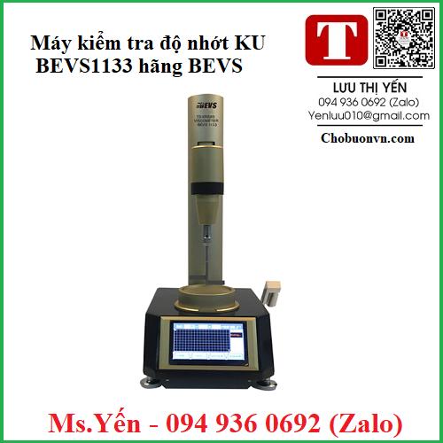 Máy kiểm tra độ nhớt KU BEVS1133 hãng BEVS