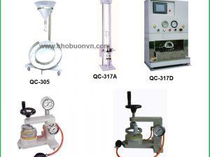 Máy kiểm tra độ thấm nước vải hãng Cometech
