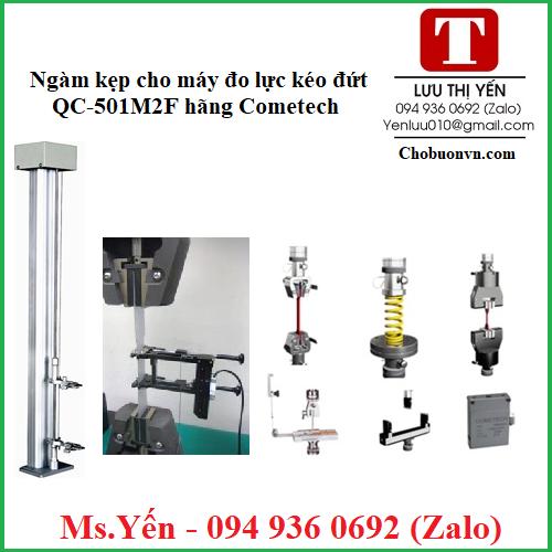 Ngàm kẹp cho máy đo lực kéo đứt QC-501M2F hãng Cometech