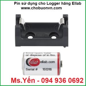 Pin sử dụng cho logger không dây hãng Ellab