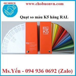 Quạt so màu K5 RAL