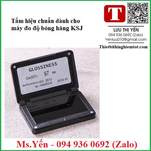 Tấm hiệu chuẩn đen máy đo độ bóng KSJ